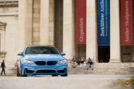 20 Zoll Vossen VPS 314T Alu's Tuning BMW F80 M3 in Yas Marina Blau 2016 9 190x127 20 Zoll Vossen VPS 314T Alu's am BMW F80 M3 in Yas Marina Blau
