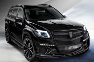 2016 Larte Mercedes Benz GLS Black Chrystal Bodykit tuning 2 190x126 Offiziell   2016 Larte Design Mercedes Benz GLS Black Chrystal