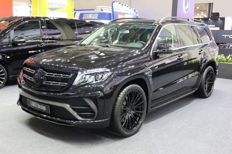 2016 Larte Mercedes Benz GLS Black Chrystal Tuning Bodykit 6 Offiziell   2016 Larte Design Mercedes Benz GLS Black Chrystal