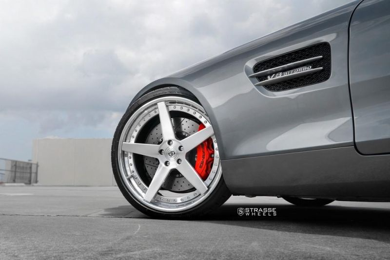21 Zoll Strasse Wheels  Mercedes AMG GTs Tuning (3)