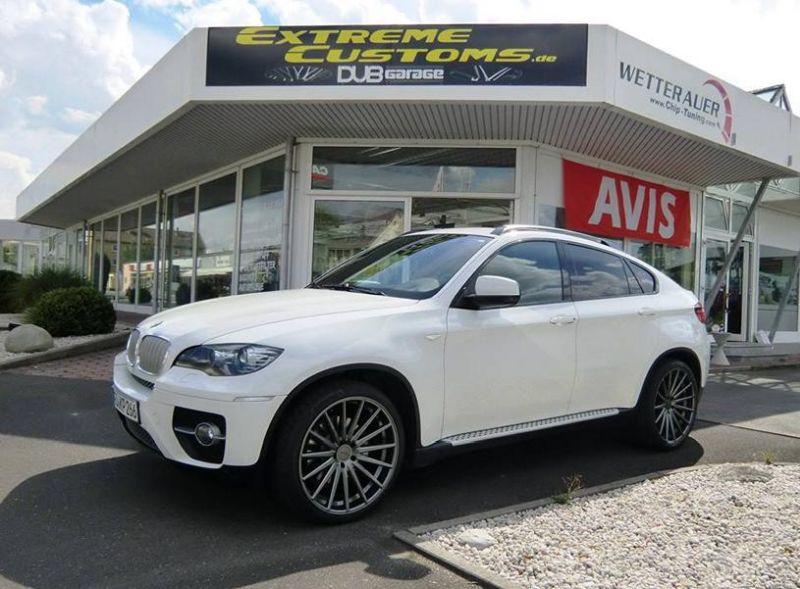 22 Zoll Vossen VFS-2 Alu's Extreme Customs Germany Tuning H&R BMW X6 E71 (1)