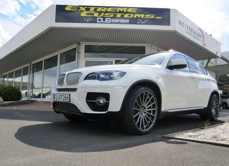 22 Zoll Vossen VFS-2 Alu's Extreme Customs Germany Tuning H&R BMW X6 E71 (2)