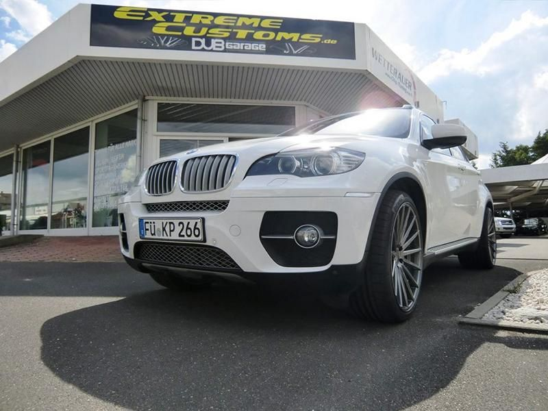 22 Zoll Vossen VFS-2 Alu's Extreme Customs Germany Tuning H&R BMW X6 E71 (3)