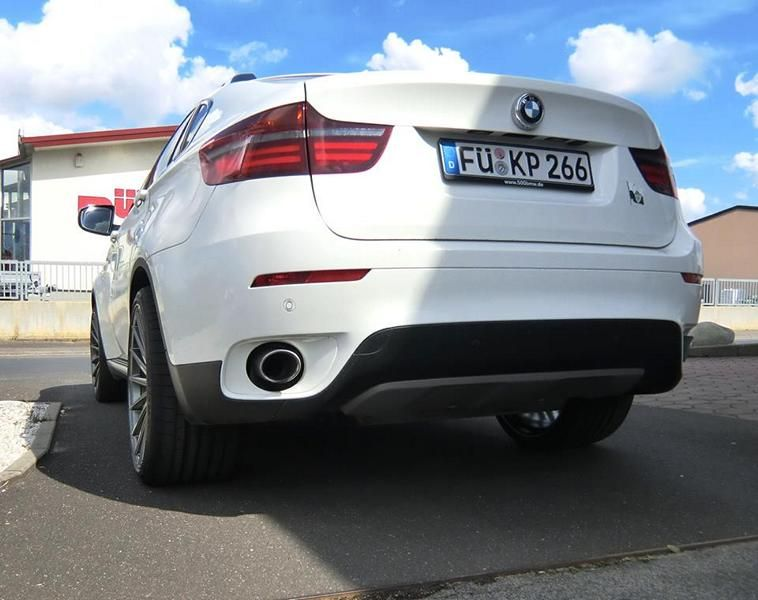 22 Zoll Vossen VFS-2 Alu's Extreme Customs Germany Tuning H&R BMW X6 E71 (4)