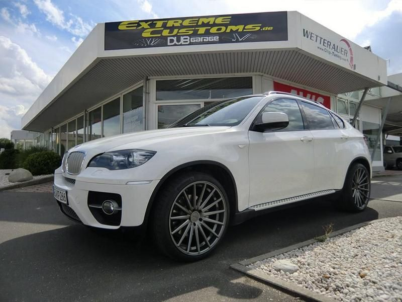 22 Zoll Vossen VFS-2 Alu's Extreme Customs Germany Tuning H&R BMW X6 E71 (6)