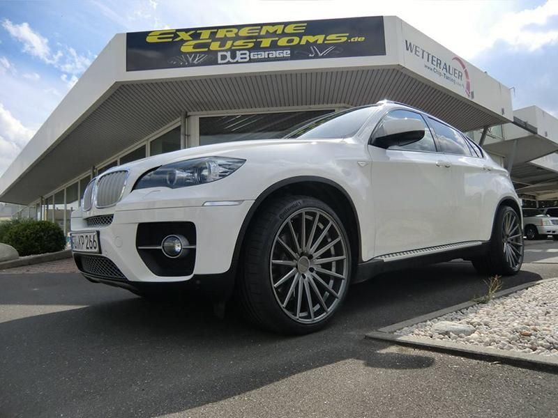 22 Zoll Vossen VFS-2 Alu's Extreme Customs Germany Tuning H&R BMW X6 E71 (7)