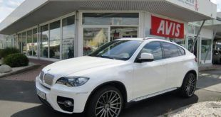 22 Zoll Vossen VFS-2 Alu's Extreme Customs Germany Tuning H&R BMW X6 E71 (8)