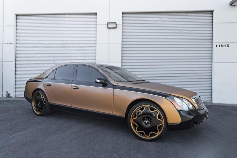 24 Zoll Forgiato Wheels OG Maybach 57S Tuning 2 Schön geht anders   24 Zoll Forgiato Wheels am Maybach 57S