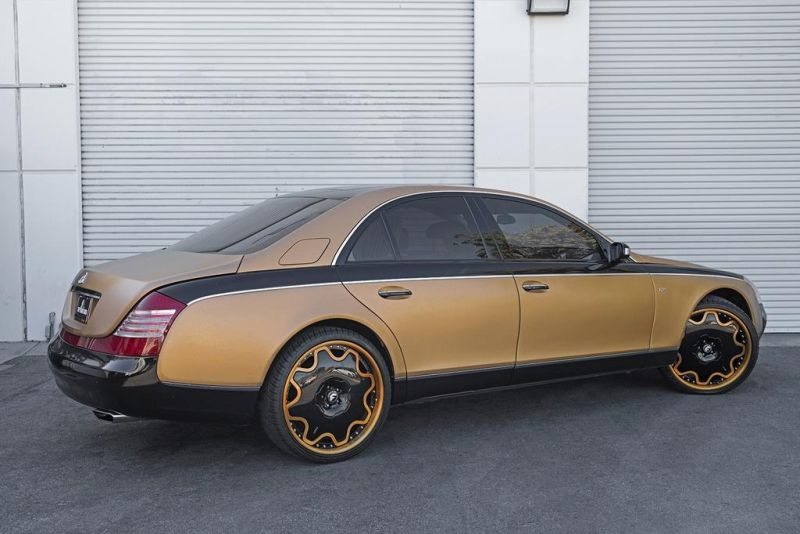 24 Zoll Forgiato Wheels OG Maybach 57S Tuning 4 Schön geht anders   24 Zoll Forgiato Wheels am Maybach 57S