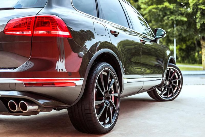 385PS 880NM ABT Sportsline VW Touareg Chiptuning 3.0 tdi 4 2 385PS & 880NM im neuen ABT Sportsline VW Touareg