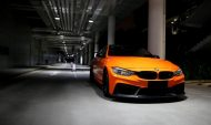 3D Design Carbon BMW M4 F82 Tuning Feuerorange 2 190x113 Fotostory: 3D Design   Carbon Parts am BMW M4 in Feuerorange