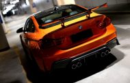 3D Design Carbon BMW M4 F82 Tuning Feuerorange 4 190x122 Fotostory: 3D Design   Carbon Parts am BMW M4 in Feuerorange