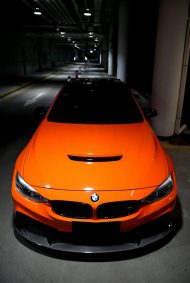 3D Design Carbon BMW M4 F82 Tuning Feuerorange 5 190x283 Fotostory: 3D Design   Carbon Parts am BMW M4 in Feuerorange