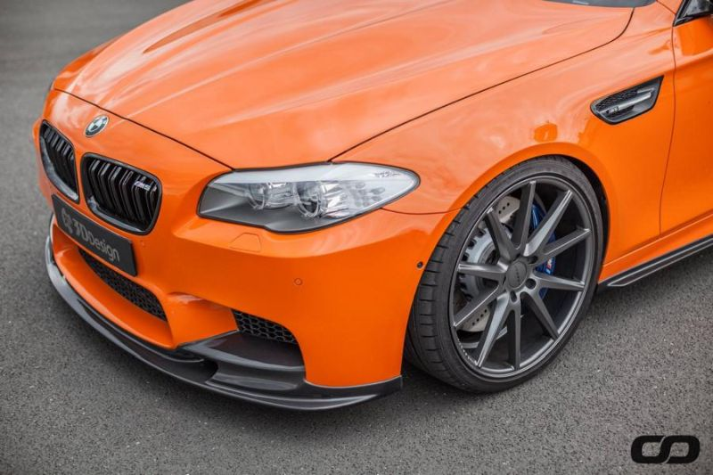 3D Design Carbon Bodykit 830PS BMW M5 F10 CFD Tuning Fireorange 2 3D Design Bodykit am 830PS BMW M5 F10 von CFD Tuning
