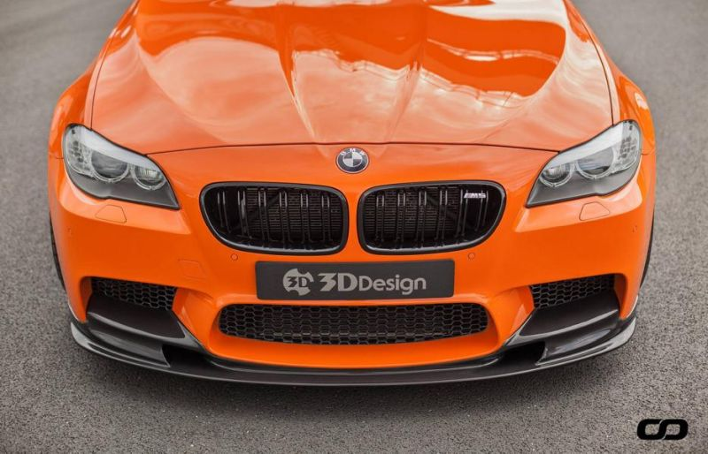 3D Design Carbon Bodykit 830PS BMW M5 F10 CFD Tuning Fireorange 4 3D Design Bodykit am 830PS BMW M5 F10 von CFD Tuning