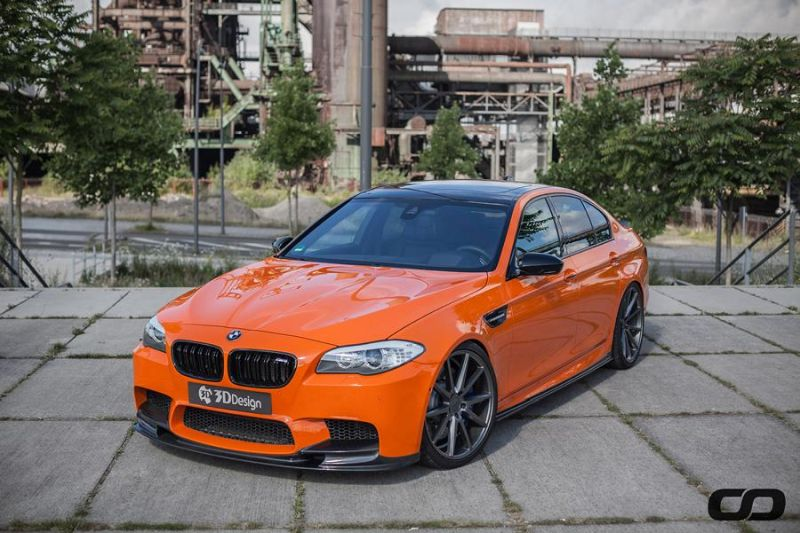 3D Design Carbon Bodykit 830PS BMW M5 F10 CFD Tuning Fireorange (7)