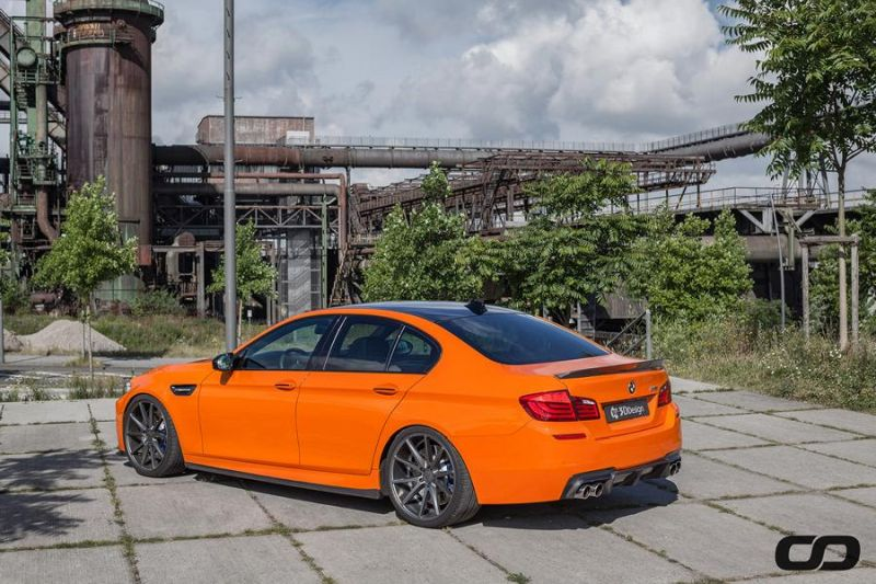 3D Design Carbon Bodykit 830PS BMW M5 F10 CFD Tuning Fireorange (8)
