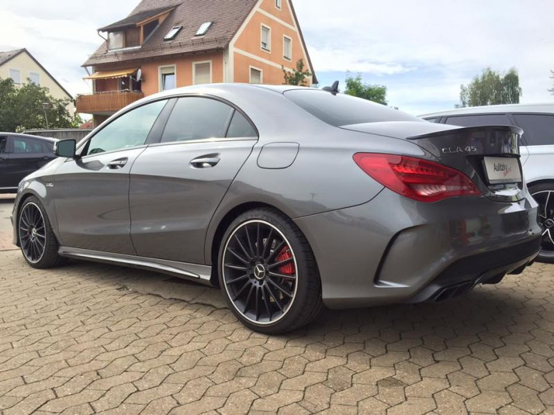 440PS 550NM Drehmoment Aulitzky Mercedes CLA45 AMG Chiptuning 2 440PS & 550NM Drehmoment im Aulitzky Mercedes CLA45 AMG