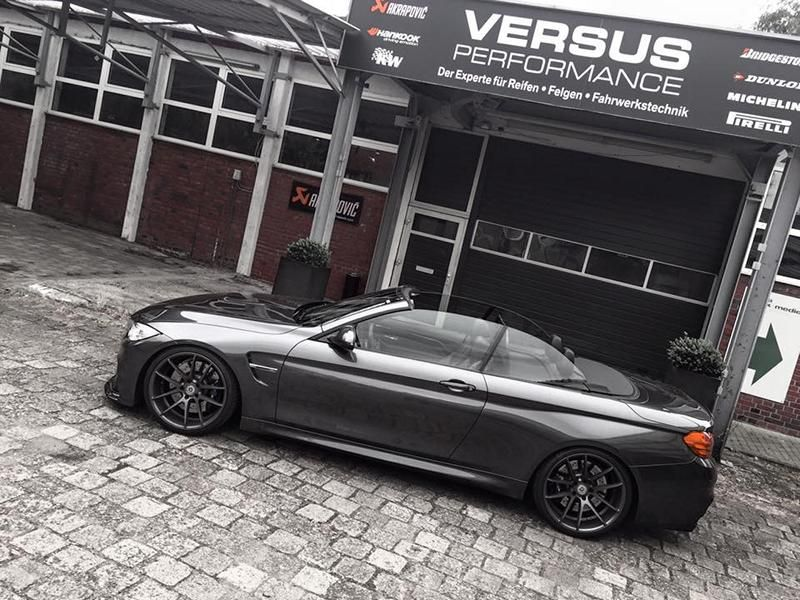 560PS 20 Zoll ArtForm BMW M4 F83 Cabrio Tuning Versus Performance 1 560PS & 20 Zöller am BMW M4 F83 Cabrio by Versus Performance
