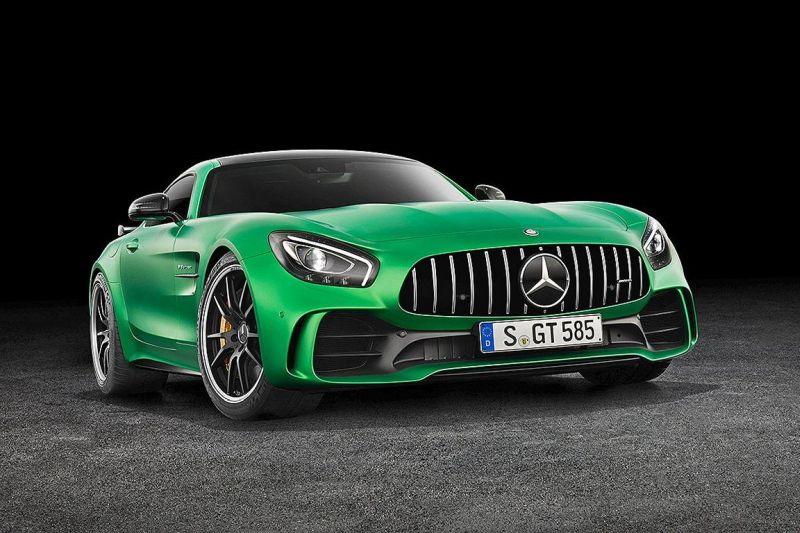 585PS Mercedes AMG GT R GTr Green Hell Magno Tuning 1 Foto & Video: 585PS Mercedes AMG GT R (GTr) in Green Hell Magno