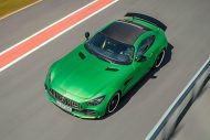 585PS Mercedes AMG GT R GTr Green Hell Magno Tuning 11 190x127 Foto & Video: 585PS Mercedes AMG GT R (GTr) in Green Hell Magno