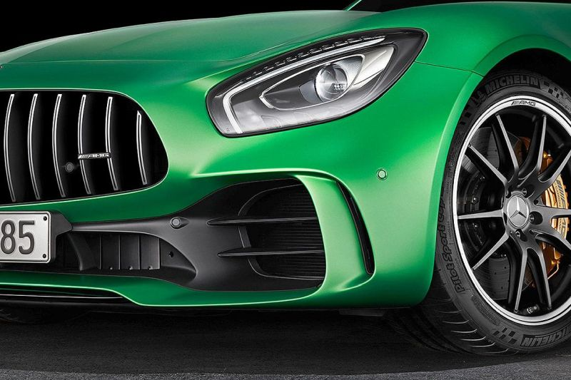 585PS Mercedes-AMG GT R (GTr) Green Hell Magno Tuning (14)