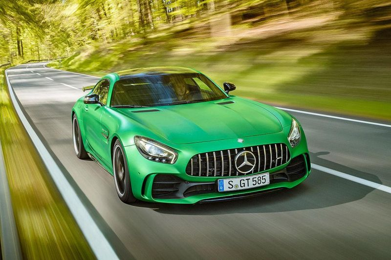 585PS Mercedes-AMG GT R (GTr) Green Hell Magno Tuning (15)