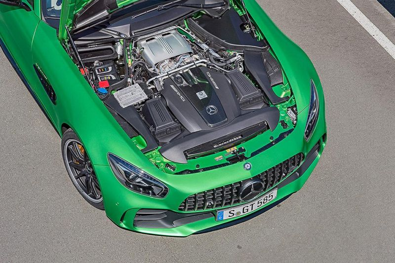 585PS Mercedes-AMG GT R (GTr) Green Hell Magno Tuning (2)