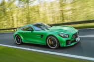 585PS Mercedes AMG GT R GTr Green Hell Magno Tuning 3 190x127 Foto & Video: 585PS Mercedes AMG GT R (GTr) in Green Hell Magno
