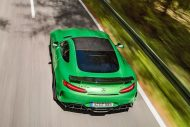 585PS Mercedes AMG GT R GTr Green Hell Magno Tuning 8 190x127 Foto & Video: 585PS Mercedes AMG GT R (GTr) in Green Hell Magno