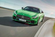 585PS Mercedes AMG GT R GTr Green Hell Magno Tuning 9 190x127 Foto & Video: 585PS Mercedes AMG GT R (GTr) in Green Hell Magno