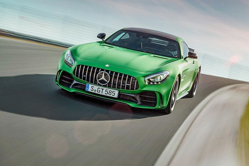 585PS Mercedes-AMG GT R (GTr) Green Hell Magno Tuning (9)
