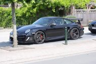 620PS Porsche 997 TECHART GTstreet R Tuning Schwarz 3 190x127 Fotostory: 620PS Porsche 997 TECHART GTstreet R in Schwarz