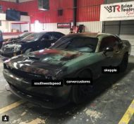 707PS Ratlook Dodge Challenger Hellcat Wrap Folierung Tuning 2 190x176 Fotostory: 707PS Ratlook Dodge Challenger Hellcat