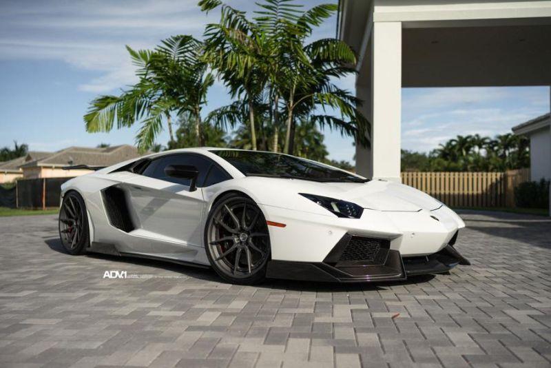 780PS Renato Lamborghini Aventador auf ADV.1 ADV5.0 Wheels 1016industries tuning (13)