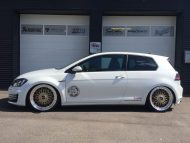 Akrapovic VW Golf 7 GTI BBS Super RS Tuning TVW 1 190x143 Mega schick   VW Golf 7 GTI (VII) auf BBS Super RS by TVW Car Design
