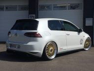 Akrapovic VW Golf 7 GTI BBS Super RS Tuning TVW 2 190x143 Mega schick   VW Golf 7 GTI (VII) auf BBS Super RS by TVW Car Design