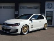 Akrapovic VW Golf 7 GTI BBS Super RS Tuning TVW 5 190x143 Mega schick   VW Golf 7 GTI (VII) auf BBS Super RS by TVW Car Design