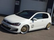 Akrapovic VW Golf 7 GTI BBS Super RS Tuning TVW 7 190x143 Mega schick   VW Golf 7 GTI (VII) auf BBS Super RS by TVW Car Design