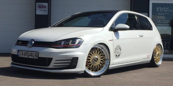 mega schick vw golf 7 gti vii auf bbs super rs by tvw. Black Bedroom Furniture Sets. Home Design Ideas
