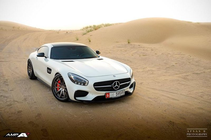 Alphamale Performance AMP 10 Alufelgen Mercedes AMG GTs Tuning 6 Schick   Alphamale Performance AMP 10 Alu's am Mercedes AMG GTs