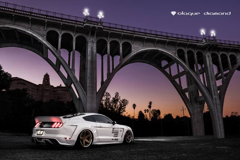 Alphamale Performance Widebody Ford Mustang GT S550 Tuning 1 Fotostory: Alphamale Performance    Widebody Ford Mustang GT