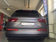 Anthrazit Matt Metallic Folierung Audi Q7 4M 2M Designs 6 190x143 Anthrazit Matt Metallic am neuen Audi Q7 4M von 2M Designs