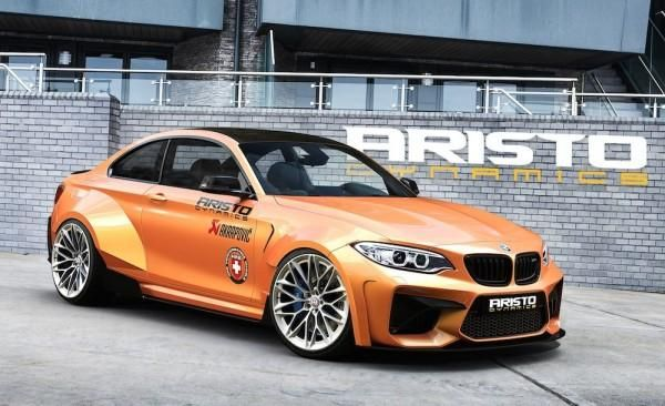 Aristo Dynamics Widebody BMW M2 F87 Coupe 1 Rendering: Aristo Dynamics Widebody BMW M2 F87 Coupe