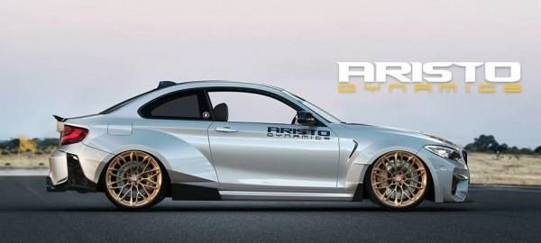 Aristo Dynamics Widebody BMW M2 F87 Coupe 2 Rendering: Aristo Dynamics Widebody BMW M2 F87 Coupe