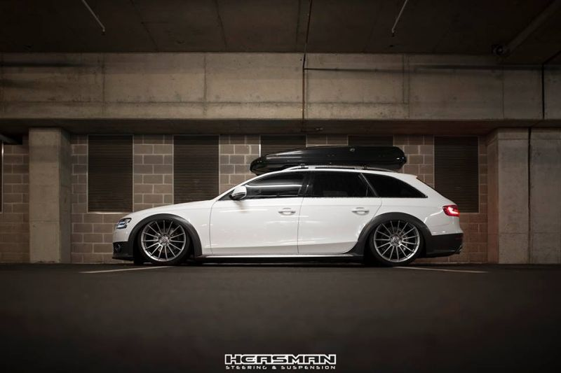 fotostory audi a4 b8 allroad mit airride hre alufelgen magazin. Black Bedroom Furniture Sets. Home Design Ideas