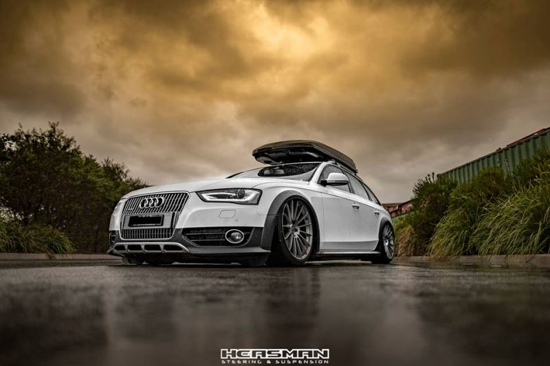 fotostory audi a4 b8 allroad mit airride hre alufelgen. Black Bedroom Furniture Sets. Home Design Ideas