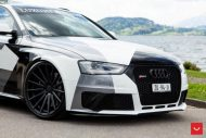 Audi A4 RS4 B8 Tuning Camouflage 20 Zoll Vossen VFS 2 Wheels 10 190x127 Mega heftig   Audi A4 RS4 B8 auf 20 Zoll Vossen VFS 2 Wheels