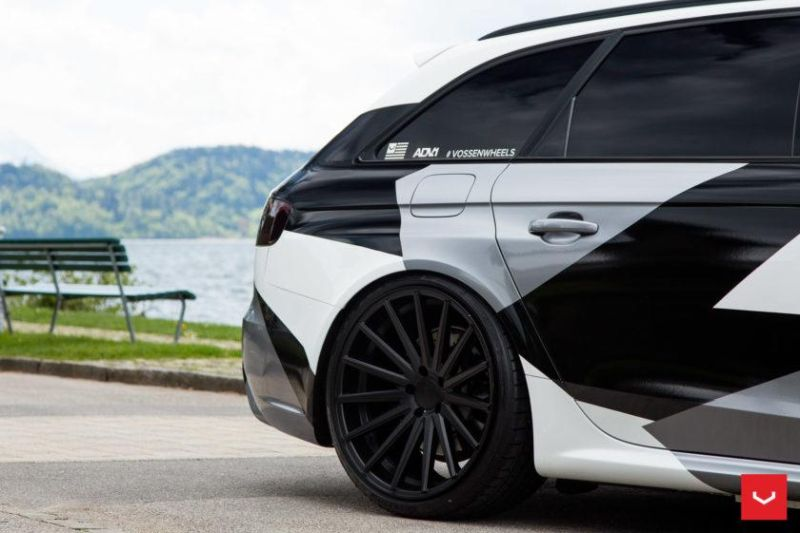 Audi A4 RS4 B8 Tuning Camouflage 20 Zoll Vossen VFS-2 Wheels (12)