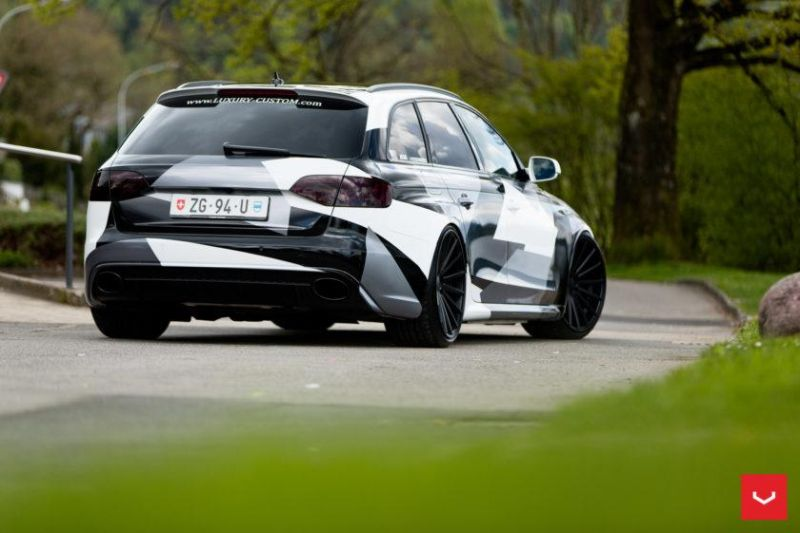 Audi A4 Rs4 B8 Tuning Camouflage 20 Zoll Vossen Vfs 2
